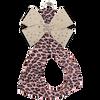 Pink Cheetah w/ Beige Bow