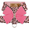 Pink Cheetah Harness with Perfect Pink Bow