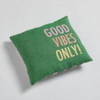 Louisdog Good Vibes Only Pillow