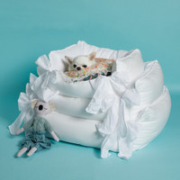 Louisdog Blanc Boom Bed