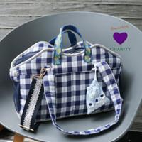 Louisdog Checkerboard Swag Bag