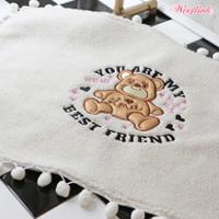 Wooflink You Are My Best Friend Blanket