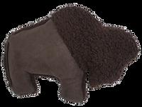 Big Sky Bison Dog Toy