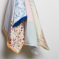 Louisdog Autumn Patchwork Blanket