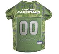 Arizona Cardinals Camo Dog Jersey