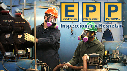 EPP: Equipo de Protección Personal: Inspeccionar y Respetar