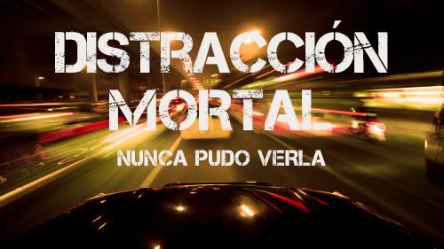 Distracciones Mortales:  Mantenga sus Ojos en el Camino  (Nunca Pudo Verla)