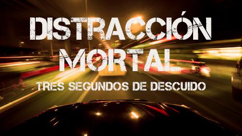 Distracciones Mortales:  Mantenga sus Ojos en el Camino  (Tres Segundos de Descuido)