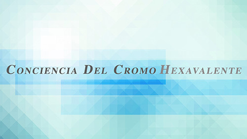 Conciencia Del Cromo Hexavalente
