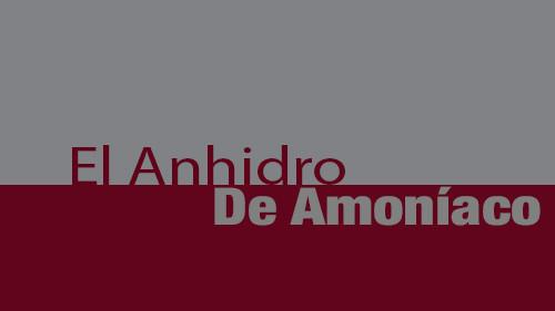 El Anhidro De Amoniaco