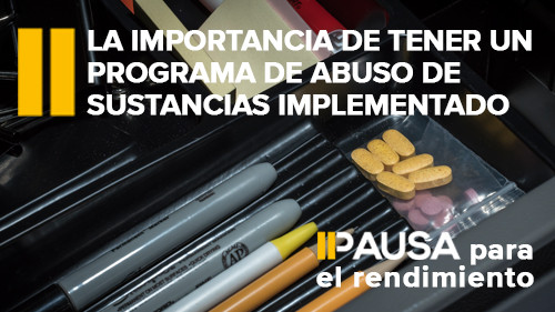 Concientización sobre el consumo de drogas y alcohol: La importancia de tener un programa de abuso de sustancias implementado