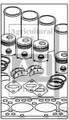 Allis Chalmers Complete Engine Kit fits 170 & D17