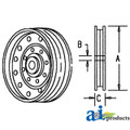 JD Combine  Idler Pulley Flat Faced  Replaces Part Number AP24354