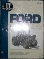 Ford Tractor IT Service Manual TW5 TW15 TW25 TW35