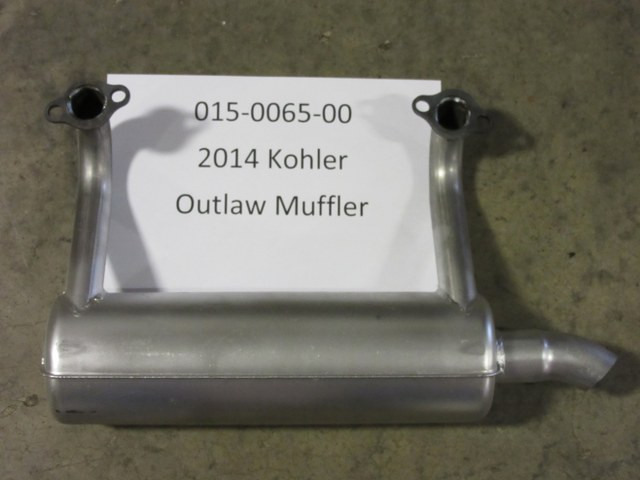 Bad Boy Mower OEM 015-0065-00 2014 Kohler Outlaw Muffler