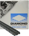 Diamond USA Roller Chain Size 40-2  10ft Roll