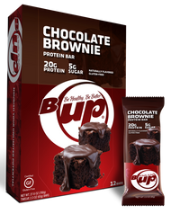 BOX - B-Up Chocolate Brownie - 12 Count