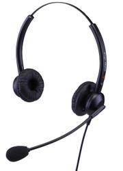 Eartec Office 308D Binaural Easyflex Boom Headset