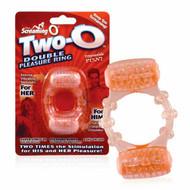 Two O Double Pleasure Vibrating Ring