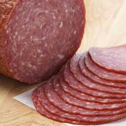 Classic Hard Salami, 2 lb, Sliced