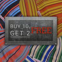 Single Sided 1000 - Buy 10, Get 2 Free