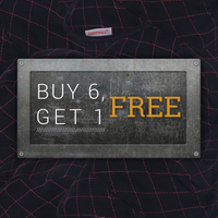 Black Quilted: Buy 6, Get 1 Free