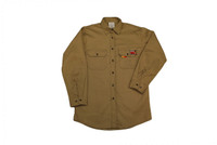 Comeaux FR Treated Khaki Work Shirt