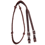 "7/8"" LATIGO BARREL REIN WITH BRAIDED KNOTS - BR78B5LK"