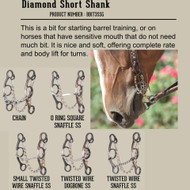 Diamond Short Shank