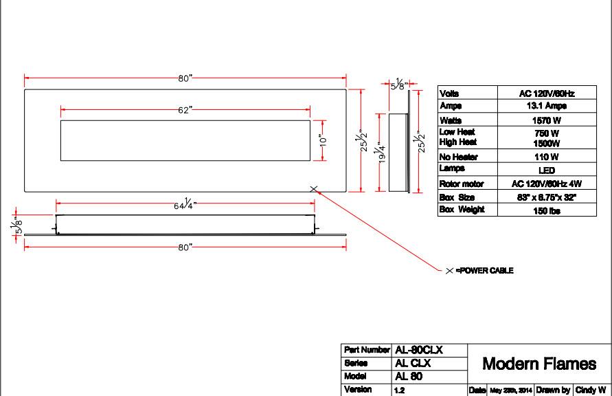 CLX-2 80 Specs