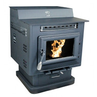 Breckwell SP6000 Heartland Step-Top Multi-fuel Stove