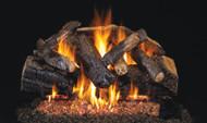 Realfyre G45 ANSI Certified Burner System w/ Charred Series Standard Gas Log Sets