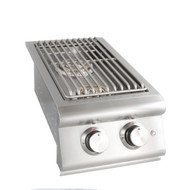 Blaze Built-In LTE Double Side Burner w/ Lights