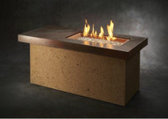 Outdoor Greatroom Artisan Linear Gas Fire Pit Table