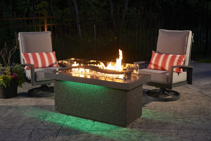 Categories - Outdoor Greatroom Boreal Complete Heat Linear Fire Pit - Embers