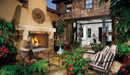 "Superior Purefire 50"" Paneled Outdoor Wood-Burning Fireplace -   White Herringbone Refractory Panels"