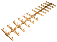 CROSSFIRE™ CFBDT480 Double Tree-Style Brass Burner