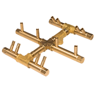 CROSSFIRE™ CFBCTL120 Circular Tree-Style Brass Burner