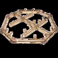 CROSSFIRE CFBO280 Octagonal Brass Burner