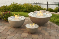 """Outdoor Greatroom Cove 12"""" Gas Fire Pit Bowl"""