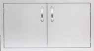 """Summerset 36"""" Dry Storage Pantry w/Enclosed Cabinet - Storage Drawers - SSDS-36DC"""