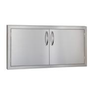 """Summerset Masonry 42"""" Double Door (Masonry Flange) - SSDD-42M"""