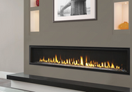 "Majestic Echelon II 72"" Direct Vent Gas Fireplace with IntelliFire Plus Ignition System (NG)"