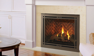 """Majestic Meridian 42"""" Top/Rear Direct Vent Unit with Intellifire Touch Ignition"""