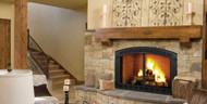 "Majestic Biltmore 50"" Radiant Wood Burning Fireplace"