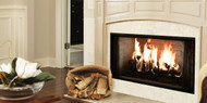 "Majestic Royalton 36"" Radiant Wood Burning Fireplace"