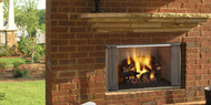 "Majestic Villawood 42"" Outdoor Wood Fireplace"