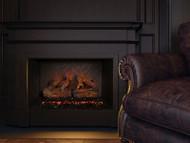 Sunset Charred Oak Electric Log Set - Modern Flames w/ Optional Battery SCO-26EL