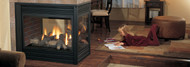 Regency® Panorama® P131 - 3-Sided Pier Large Gas Fireplace