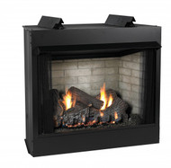 Empire Breckenridge Vent-Free Firebox Deluxe 32 - Vent-Free Firebox Deluxe 32 (includes Black Hood) - VFD32FB0